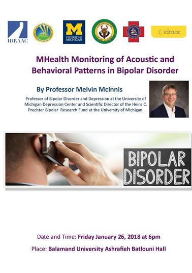 "MHealth Monitoring of Acoustic and Behavioral Patterns in Bipolar Disorder "" Conference by IDRAAC"